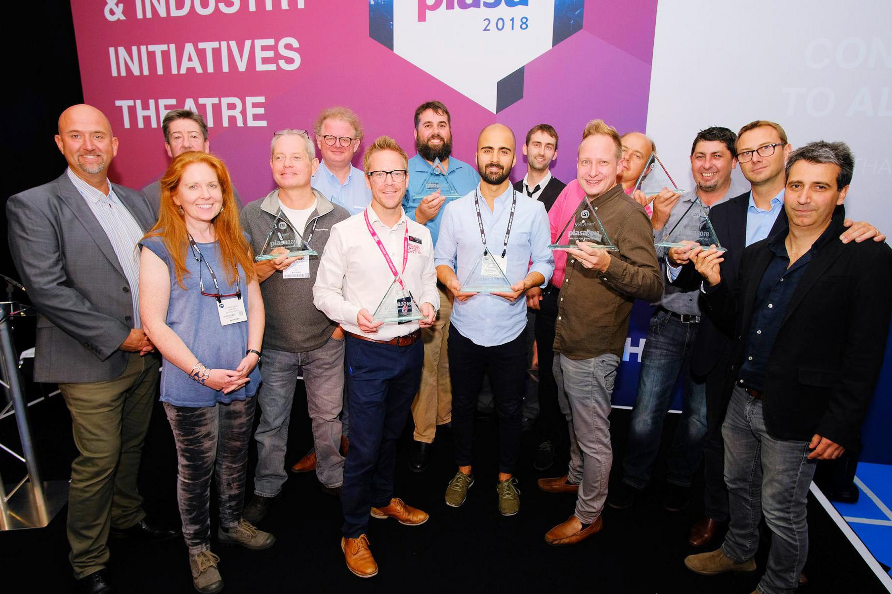PLASA Show 2018 Innovation Award winners